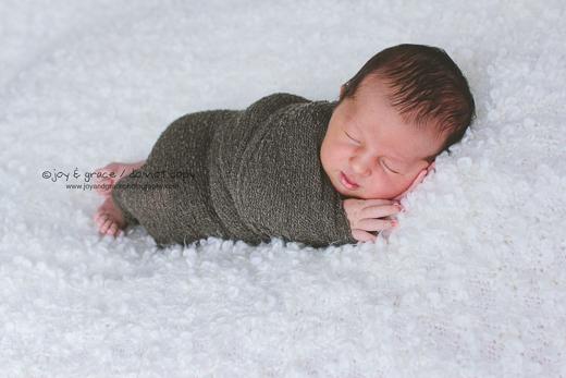 4 day old baby boy - albertville newborn photographer