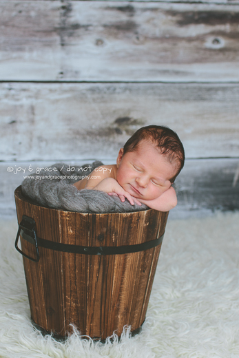 4 day old baby boy - albertville newborn photographer