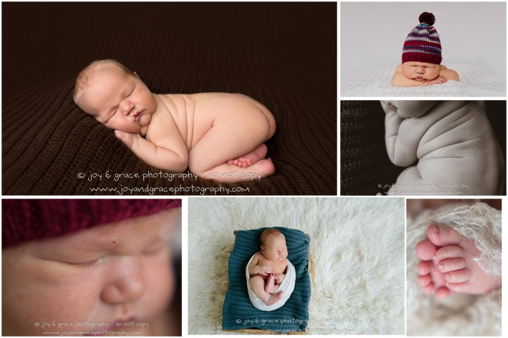 5 day old baby boy - albertville newborn photographer