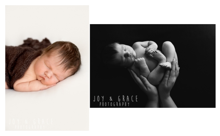 7 day old baby boy becker newborn photography