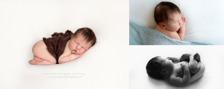 7 day old baby boy becker newborn photographer