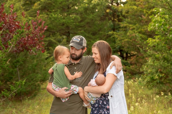 new family of 4 {becker family photographer}